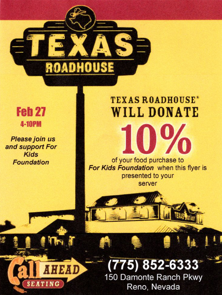 It is a photo of Bewitching Texas Roadhouse Coupons 2020 Printable
